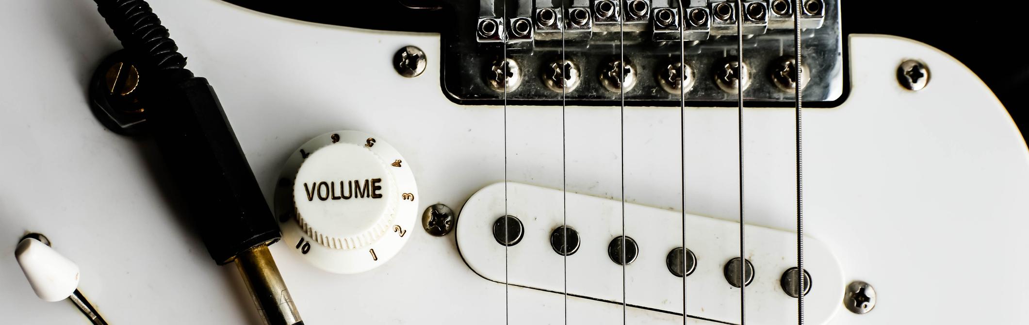 electric-guitar-white-black