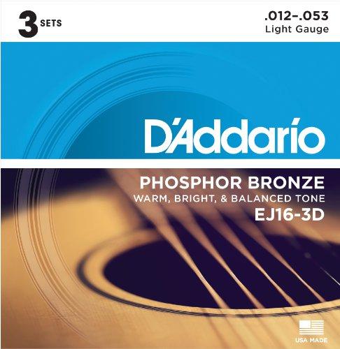 corde acoustique D'Addario