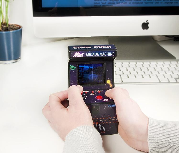 Mini console d'arcade
